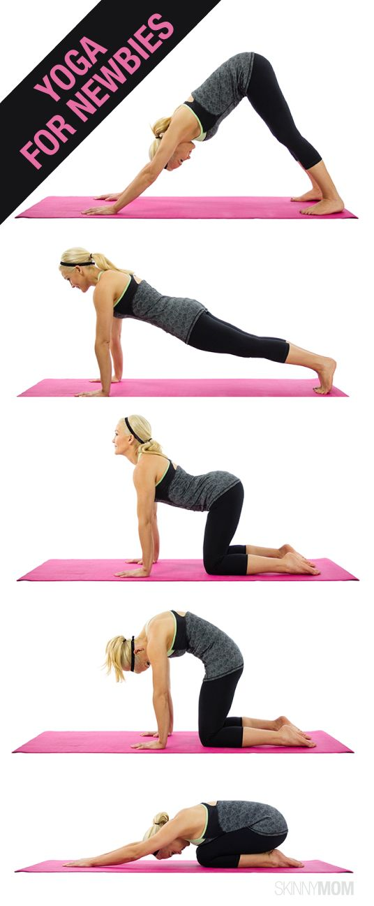 We've got some great moves for you to try if you are new to yoga.