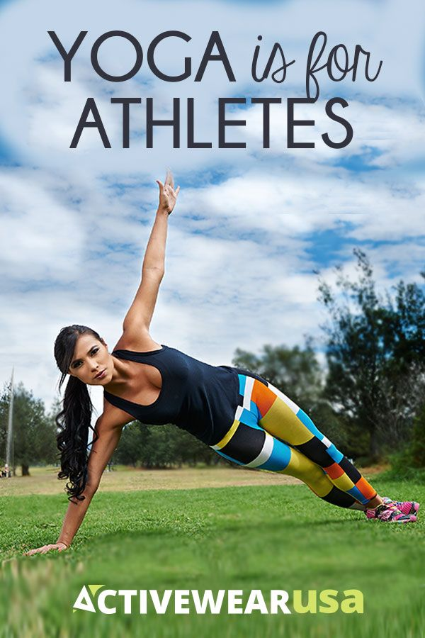 Yoga Is For Athletes - No matter what sport you do or how competitive you may be...