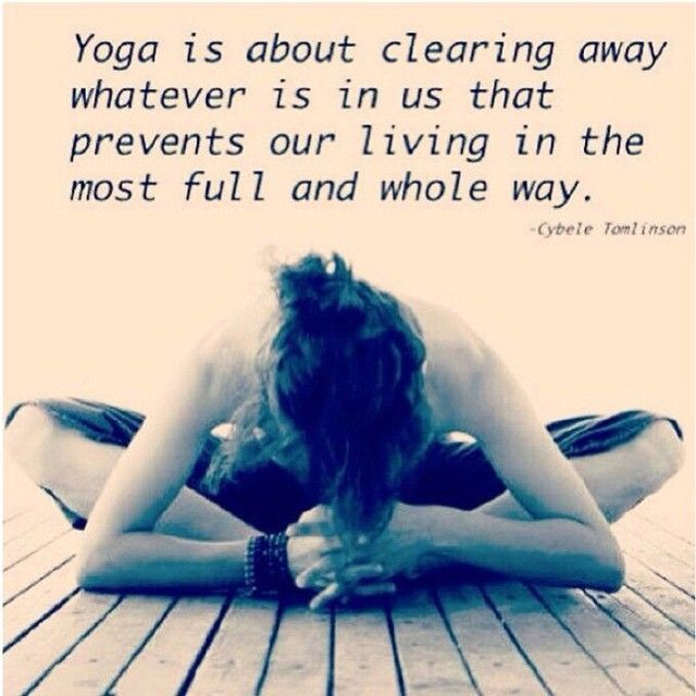 Yoga heals the mind, body and soul by helping you twist out stored emotional ene...