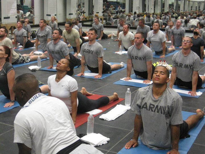 Yoga in US ARMY