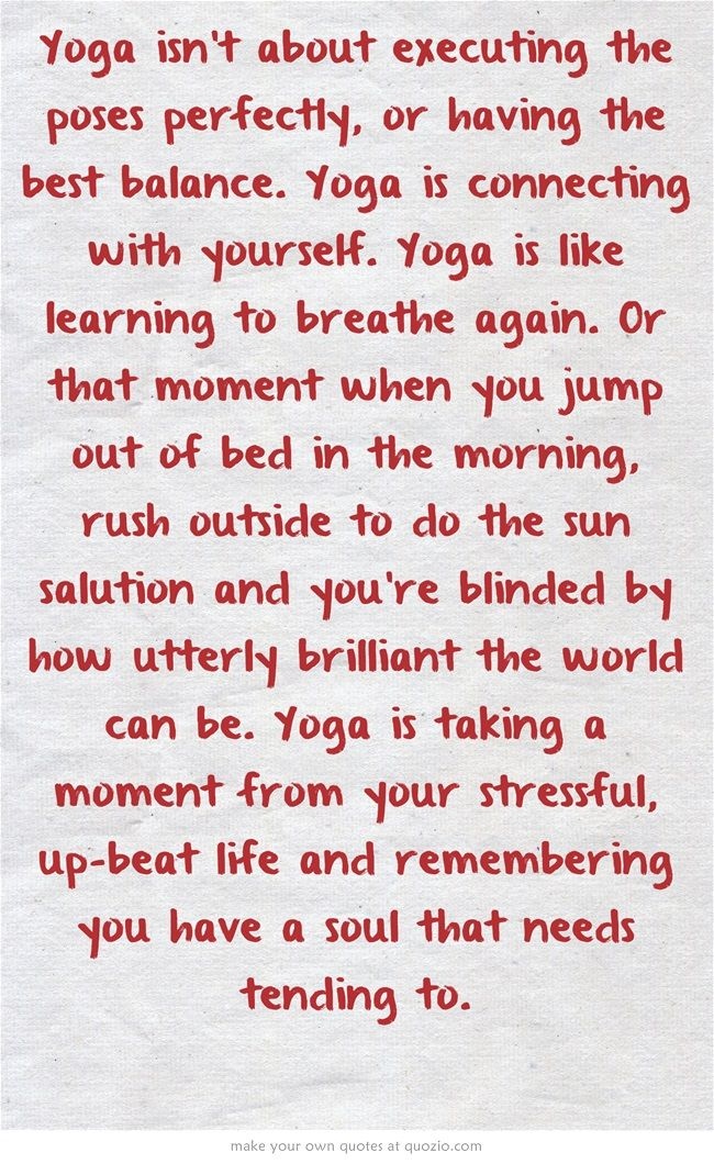 Yoga is SO MUCH MORE than asana... Yoga is returning to True Self... attending t...