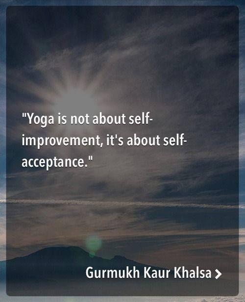 Yoga. .