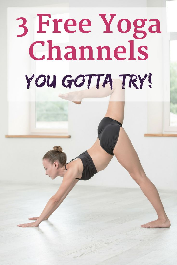 These 3 yoga youtube channels with amazing yoga videos that are all great workou...
