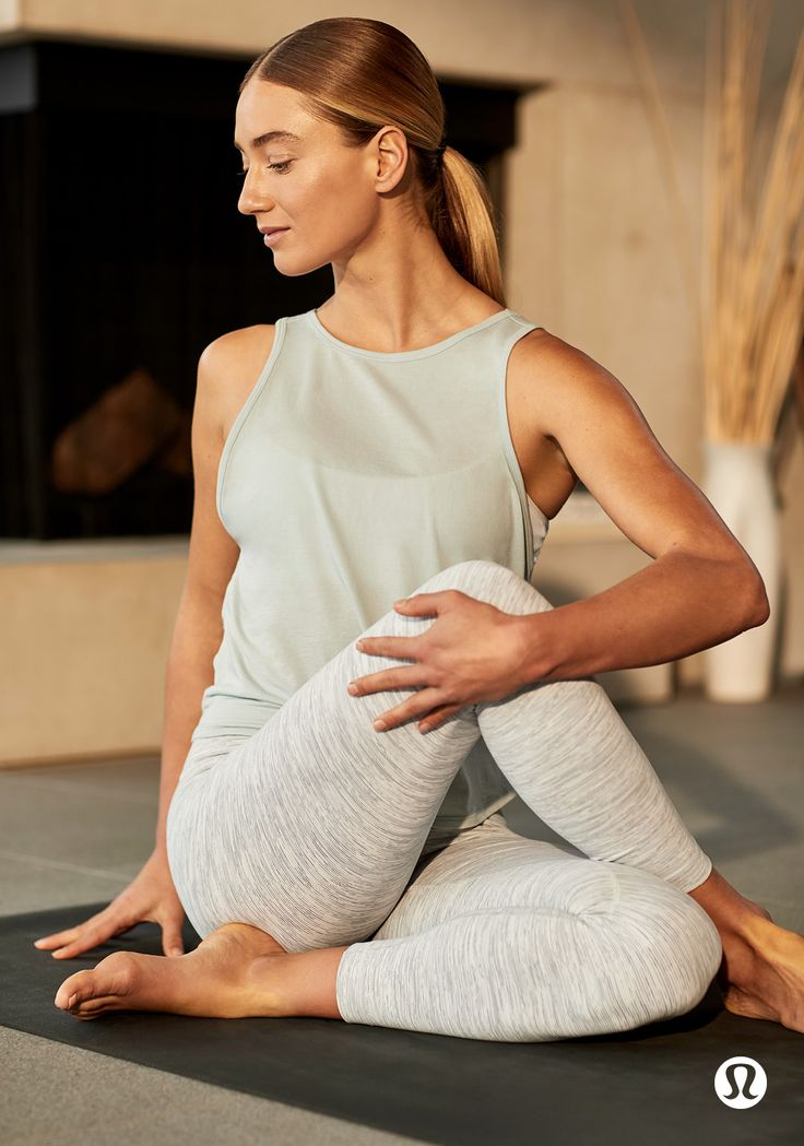 Breathable comfort with ultimate softness—get to know the Twist It Tank.