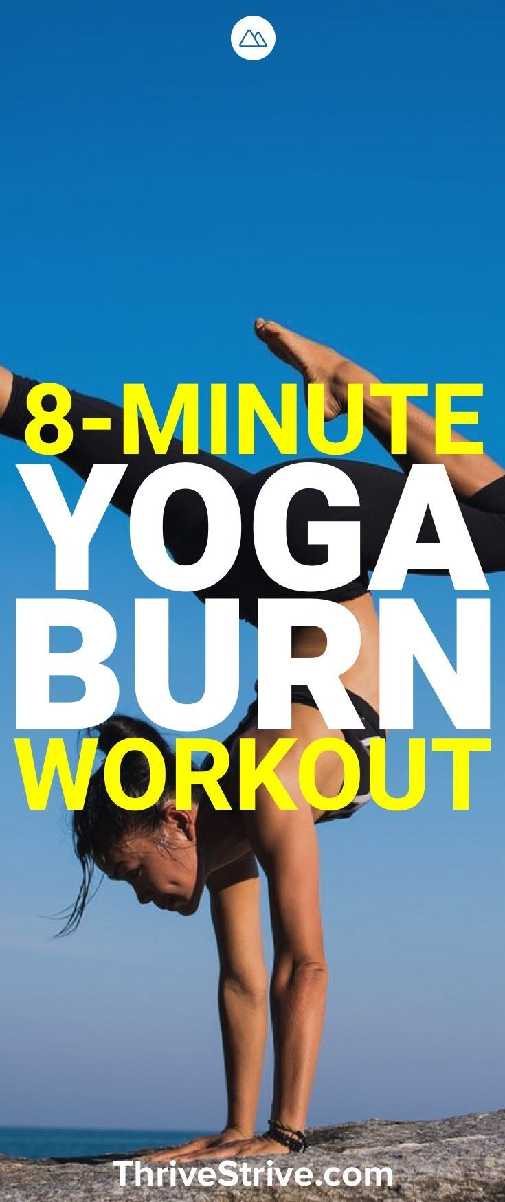 Yoga sessions don't have to be 30 minutes long to feel productive. This 8-mi...