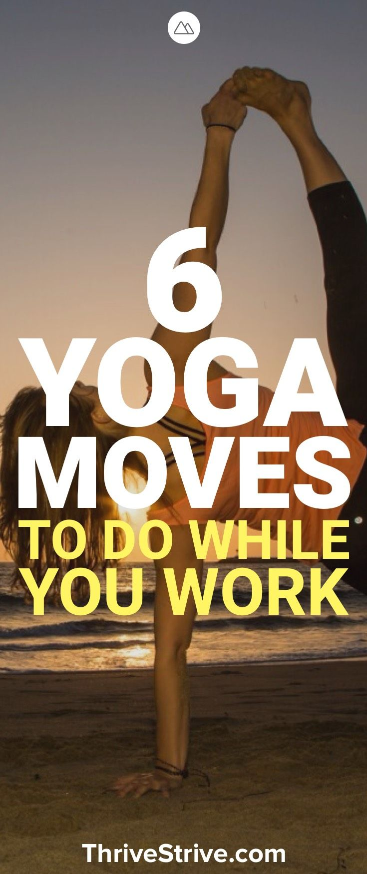 It can be hard to squeeze in a nice yoga session if you work all day. Fortunatel...
