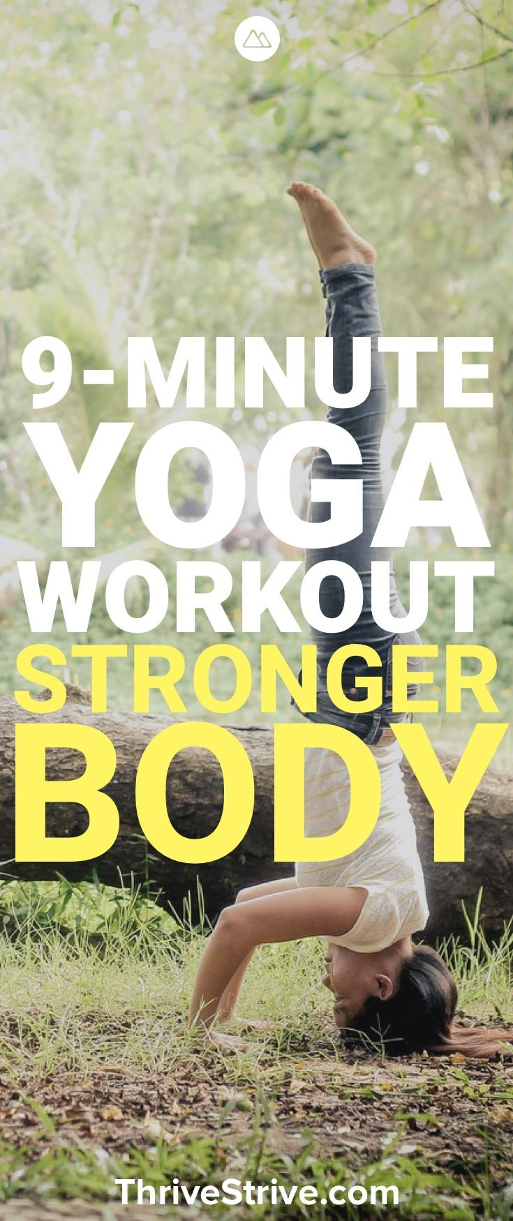 Looking to get toned with yoga and lose weight? This 9 minute yoga strengthening...