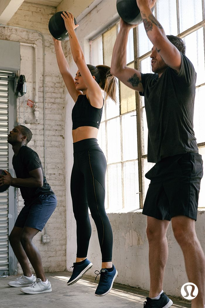 Embrace your sweat. Dynamic ventilation meets intense training in our Sculpt It...