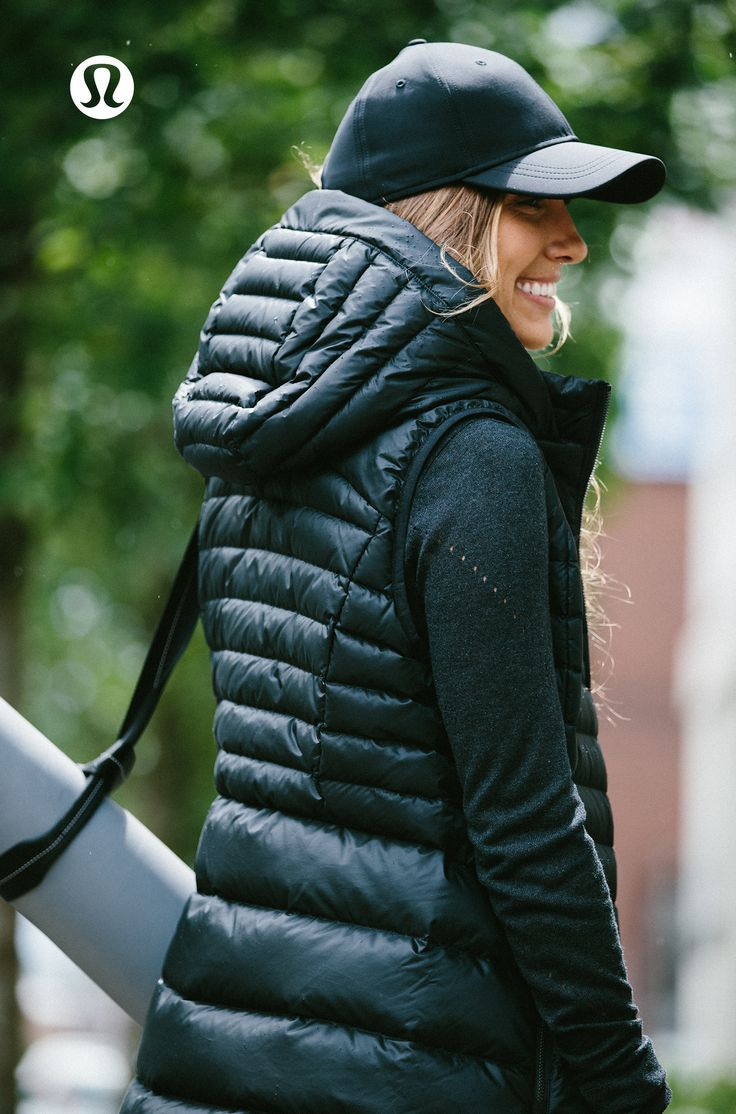 Down For It Vest. All the fluff without the puff—this lululemon down vest was ...
