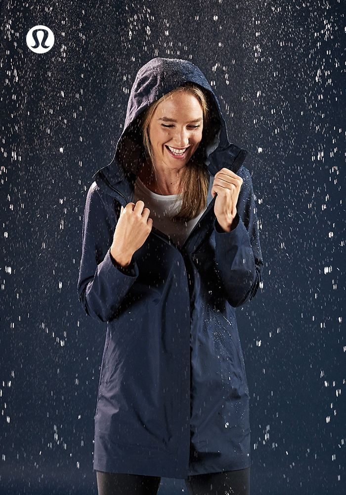 Embrace the weather in the Rain Haven Jacket.