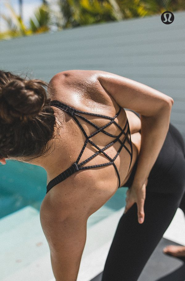 Feel free. To move, to breathe, and to be. Featuring: The Free to Be Zen Bra*Sil...