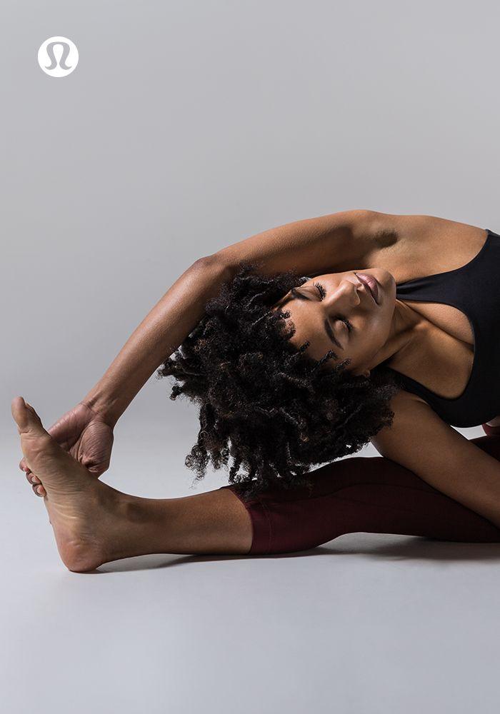 Feel your practice in lululemon yoga gear.