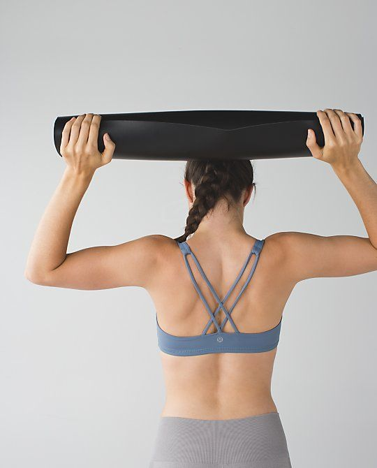 Free To Be Bra: we designed this lightweight bra with the small-busted yoga enth...