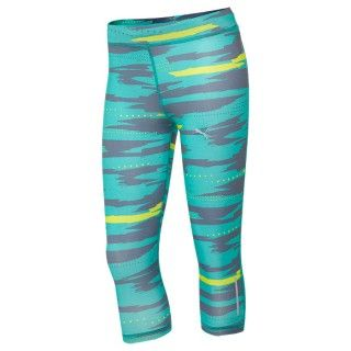 Best Running Tights for Women: Puma Graphic 3/4 Running Tights - Best Workout Cl...