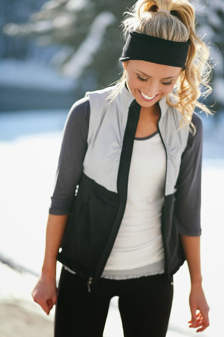 Cute running gear! Keeping warm and staying active #fit