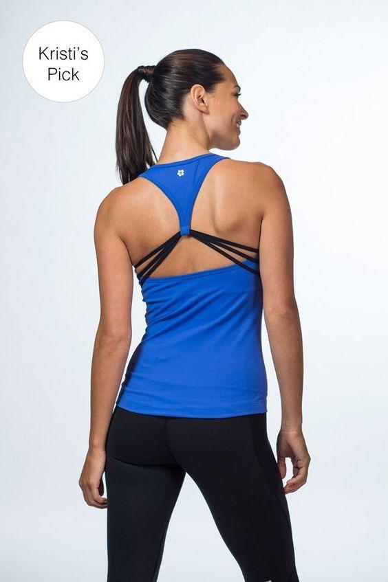 Emma Strappy Tank | Fitness Apparel || Shop @ FitnessApparelExp...