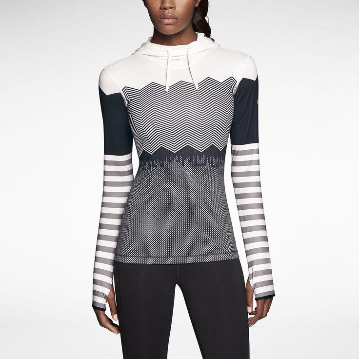 a900625664707 Nike Pro Hyperwarm Engineered Print Women's Training Hoodie. Nike Store  www.smar.
