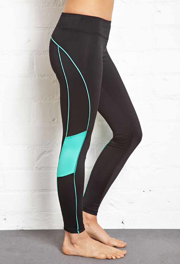 Piped Running Legging | FOREVER21 #F21Active #Workout
