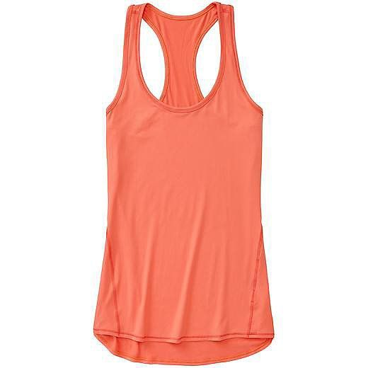Slap on the sunscreen and slip on this wicking Athleta Chi Tank Extra Long Tank ...