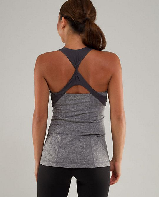 Spin Me Tank from lululemon, love....why you gotta be so expensive!