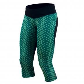 These comfy Pearl Izumi Flash ¾ Tight Print capris have the wide waistband so t...