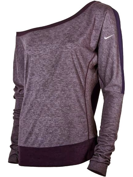 Womens Nike One Shoulder Top. Perfect for lounging around, but not looking like ...
