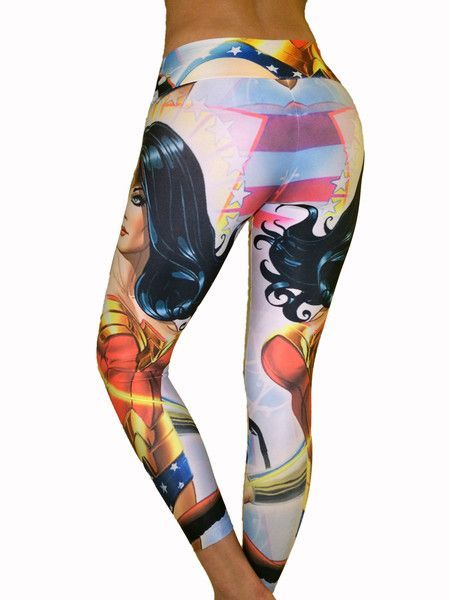 Wonder Woman Leggings perfect for your CrossFit WOD!