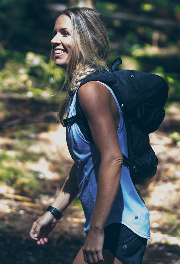 Natalie Taylor: Vancouver store run ambassador.