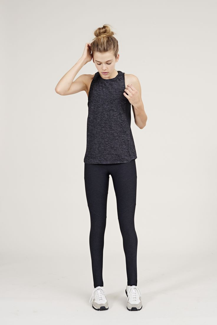 The Dancer Leggings in Charcoal from Outdoor Voices. Activewear. Click on the li...