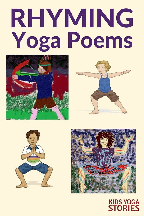 4 Rhyming Poems for Kids Yoga   Kids Yoga Stories