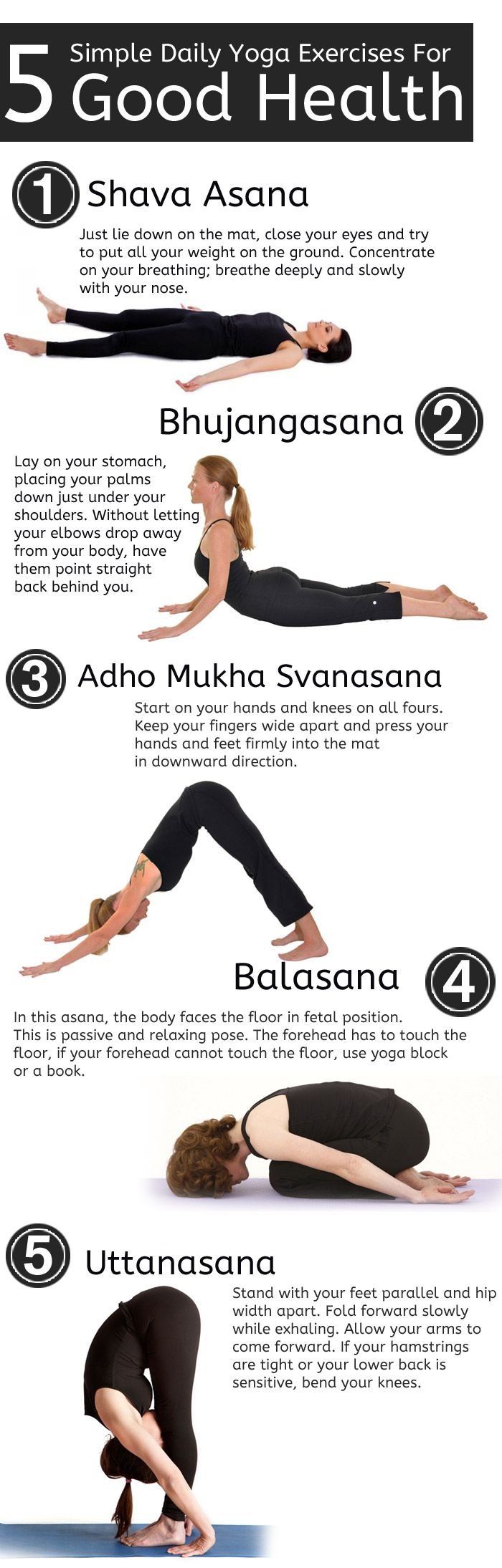 Yoga Poses  5 Simple Daily Yoga Exercises For Good Health -7655