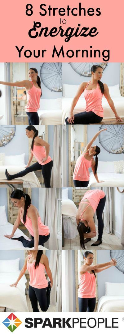 8 stretches to energize