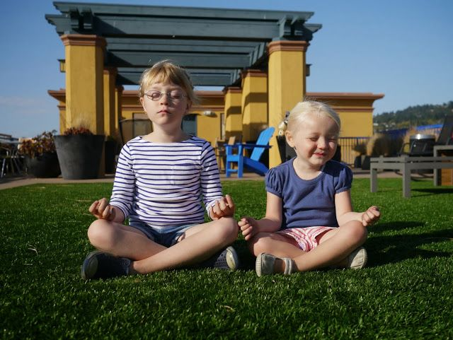 A to Z in kids yoga poses by Little Hiccups #kidsyoga