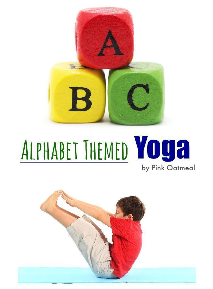 Alphabet Yoga - The perfect way to combine learning and movement with the alphab...