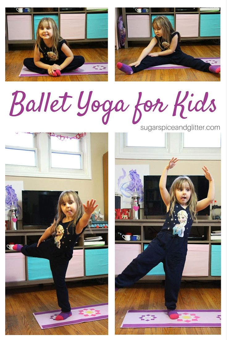 Ballet Yoga for Kids | Study at Home Mama