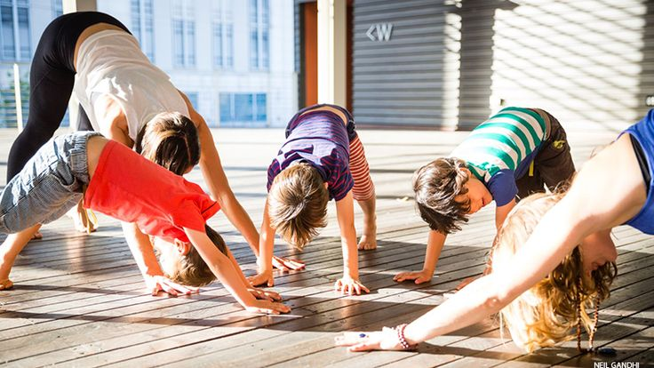 Baptiste Yoga: 9 Family-Friendly Garden Yoga Poses | Yoga Journal