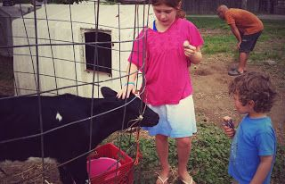 Full of Joy Blog: Yoga on the Farm