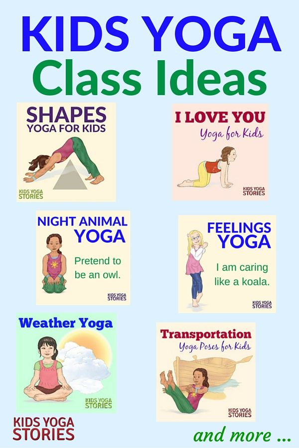 Fun and easy kids yoga class ideas | Kids Yoga Stories