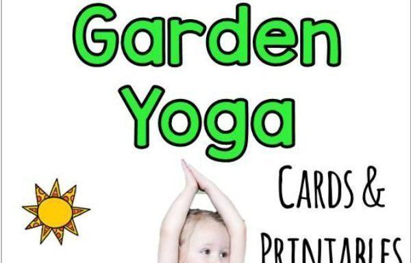 Yoga Poses : Garden Yoga For Kids. Summer Gross Motor Ideas! Fun Kids Yoga  Poses!