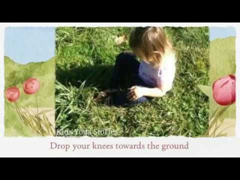 How to do Butterfly Pose (or Cobbler's Pose) with Kids | Kids Yoga Stories