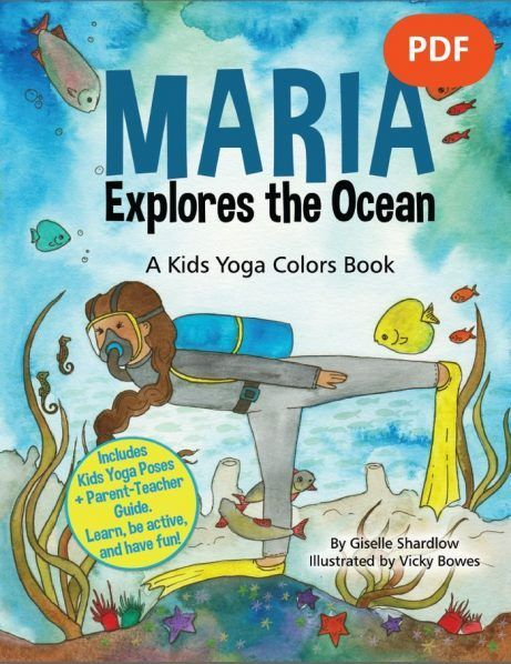 NEW Maria Explores the Ocean yoga book available in PDF Download for yoga-on-the...