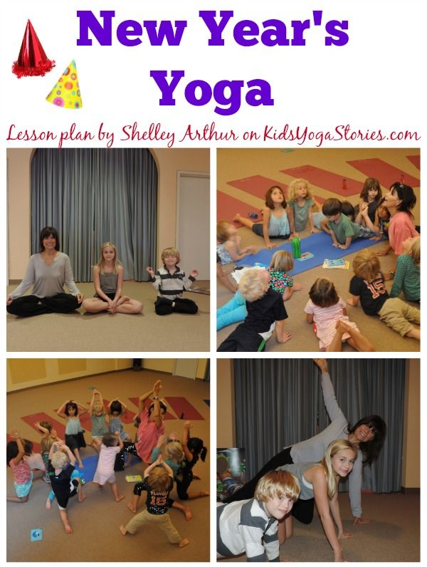 New Year's Yoga sequence | Kids Yoga Stories