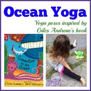 Ocean book kids yoga