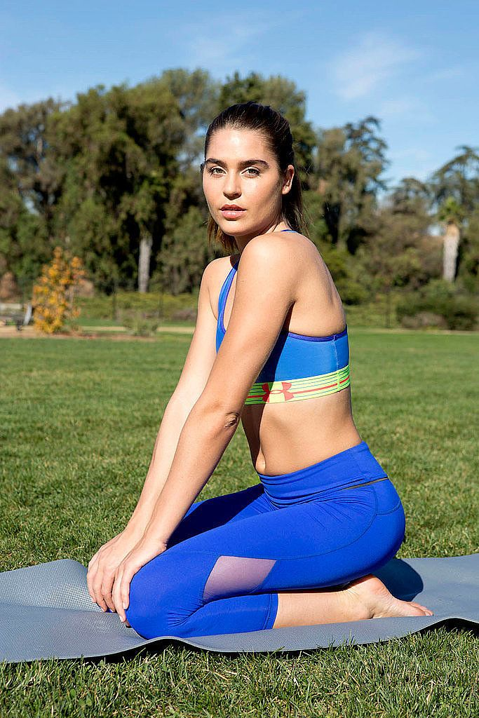 Rise and shine! This yoga sequence with an energizing playlist will make it that...