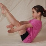 Row, row, row your boat pose - strengthen the core while enjoying a song - kids ...
