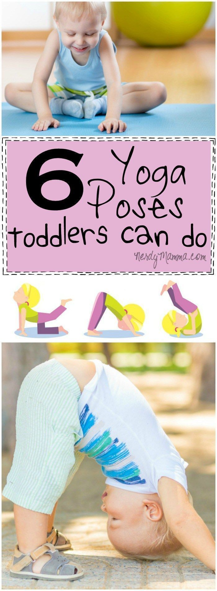 These 6 yoga poses that toddlers can do Genius. I mean, seriously, if I can get ...