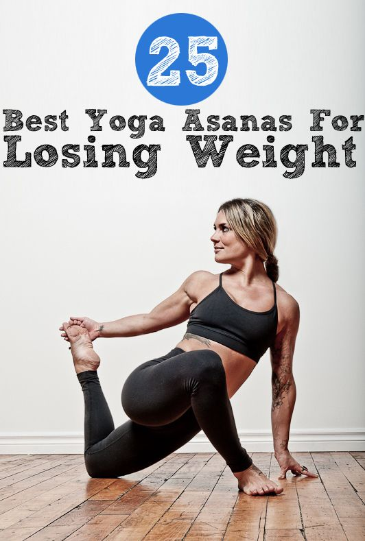 Top 25 Best 3Yoga #Asanas For Losing Weight