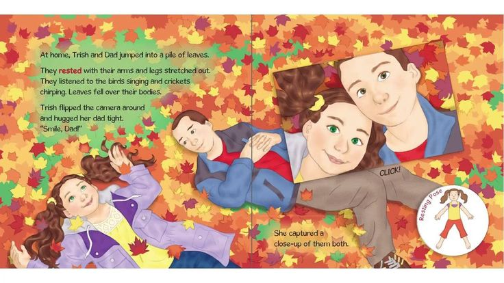 Trish's Fall Photography - A Kids Yoga Stories Audio Yoga Book for Kids