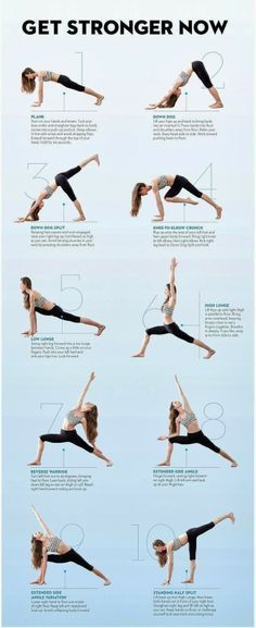 10 simple poses to flow with for a stronger, more flexible and healthy y.o.u.!