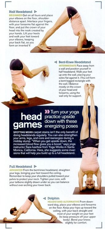 Ready to practice your headstands?? Here's an awesome guide to get you start...